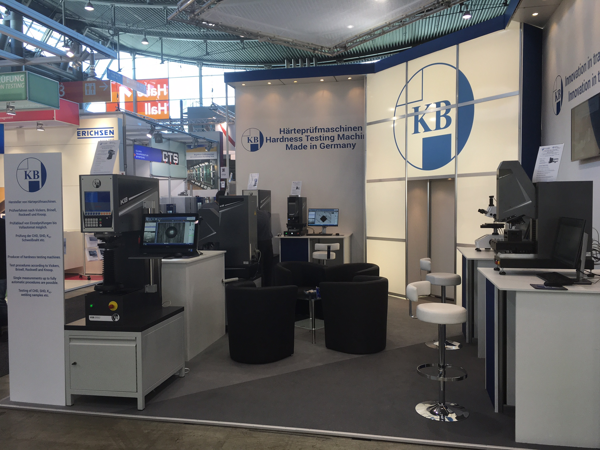 Impressions from the exhibition stand